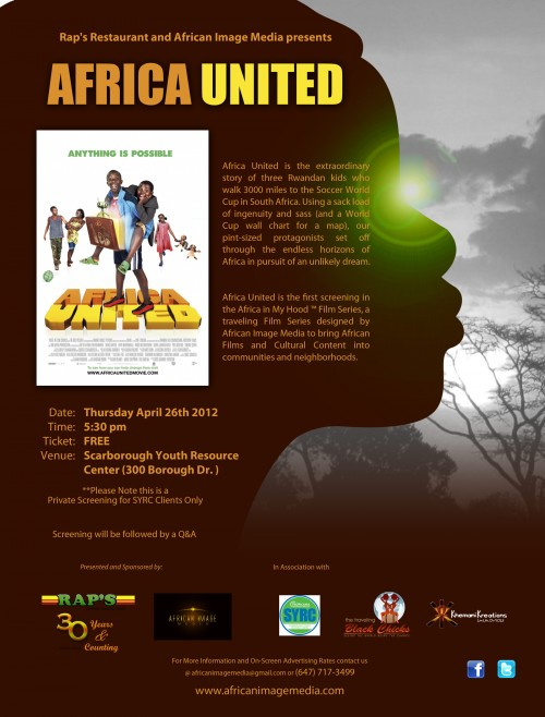Africa in My Hood Series. First Film- Africa United