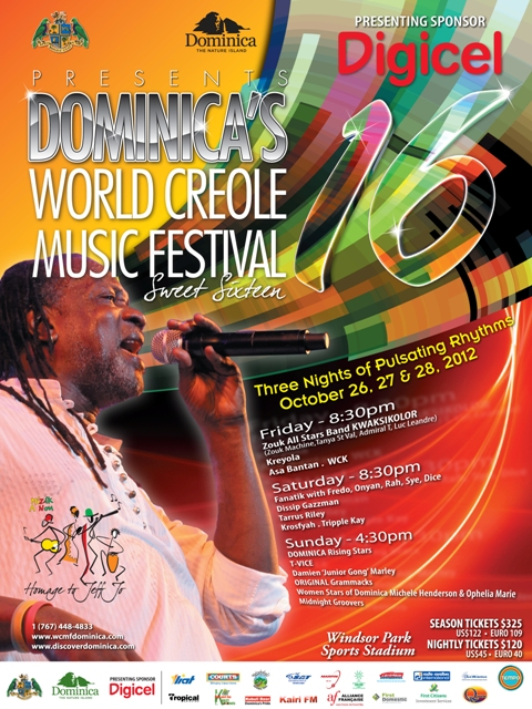 Social Media for Dominica's World Creole Music Festival