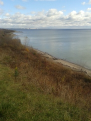 Lake Ontario was especially Calm and Peaceful!